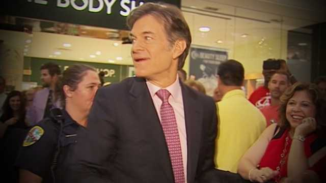 America's Doctor, Dr. Oz, headlined the WPBF 25 Health And Wellness Festival at the Gardens Mall for the second straight year Saturday.
