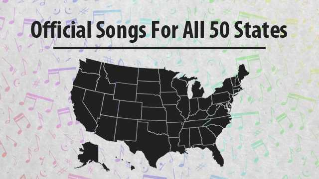 Do you know what the official song is in your home state? Click through this slideshow list to find out!NOTE: Some states have multiple official songs&#x3B; we chose the one selected by the website 50states.com/songs/