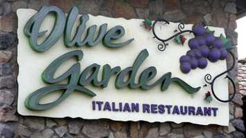 1. Darden Restaurants (328) -- 181,468 employees
