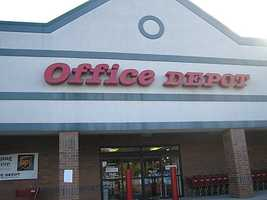 5. Office Depot (253) -- 38,000 employees