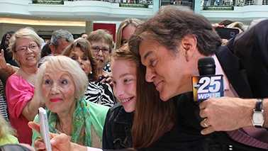 Dr. Oz was the headliner once again at the 2014 WPBF 25 Health And Wellness Festival. Take a look through this slideshow to see if our cameras spotted you at the Gardens Mall on Saturday! (All Photos: John P. Wise/WPBF)