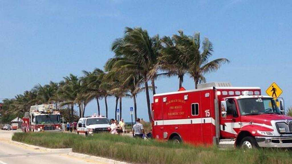 1 treated after possible drowning in Juno Beach