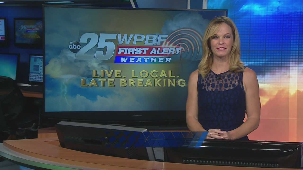 Sandra says the new workweek brings hot and windy conditions to South Florida.