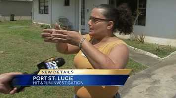 The woman whose car matches that of one involved in a hit-and-run crash said it wasn't her.