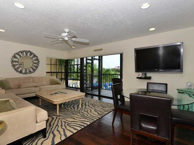 Comfortable family room.