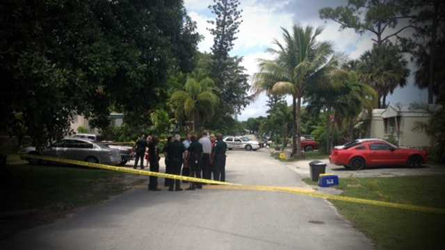APRIL 15: One person was found stabbed to death, and two others also suffered knife wounds in West Palm Beach on Tuesday afternoon.