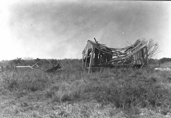 Abandoned residence in the Cape Sable region. (1925)