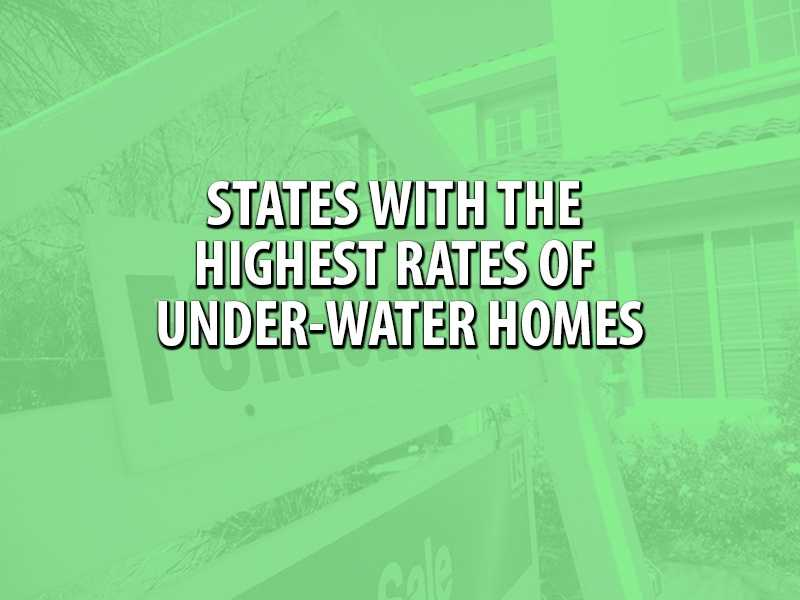 RealtyTrac posted some first-quarter data about states with the highest percentages of under-water homes. Check the top 10 on WPBF.com.