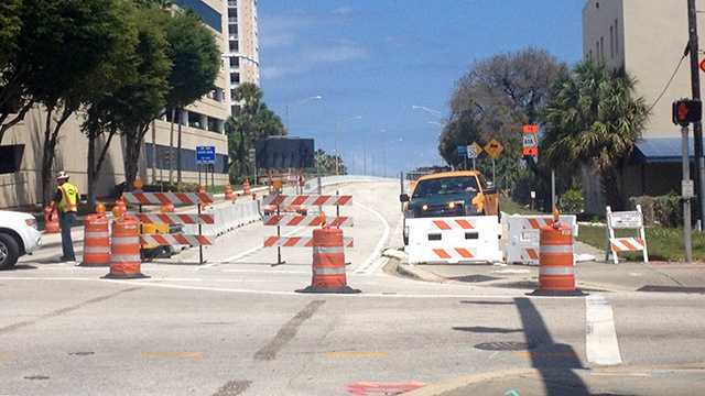 APRIL 22: The Flagler Bridge is scheduled to close for six months in May, but Tuesday's temporary closure due to mechanical issues caught motorists by surprise.