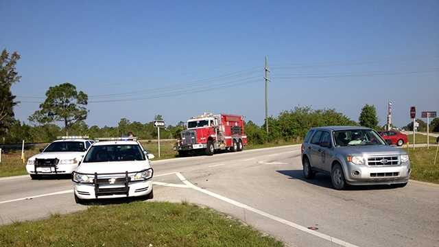 APRIL 24: A fatal crash in Loxahatchee on Thursday shut down a stretch of the Beeline Highway for morning commuters.
