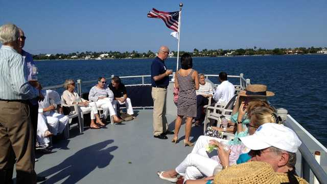 Thanks to a group called Sailing Heals, some local cancer patients got to spend a day on the water, a long way away from the doctor's office.