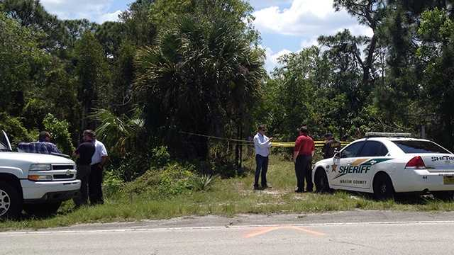 APRIL 25: A body was found in the woods in Hobe Sound on Friday.