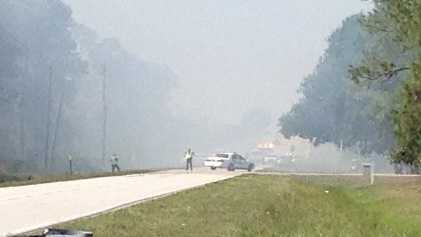 APRIL 25: Seven acres of property caught fire Friday afternoon in Martin County.