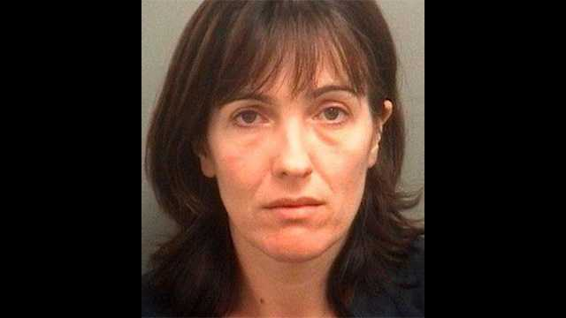 Arlinda Wiebe is accused of leaving her 1-year-old son alone in a hot car while she shopped at T.J. Maxx.