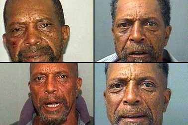 Leon Hughes is suspected of setting his neighbor's car on fire, and after doing some digging into his record on Tuesday, WPBF.com found that he's been arrested more than 20 times in Palm Beach County since 1998. Take a look at some of his mugshots since then. An arrest is not a presumption of guilt.