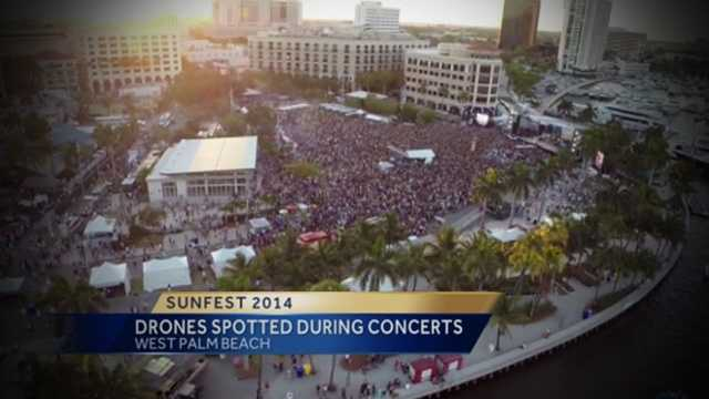 Did you see the drones over Sunfest over the weekend? Get the scoop from our Erin Guy.
