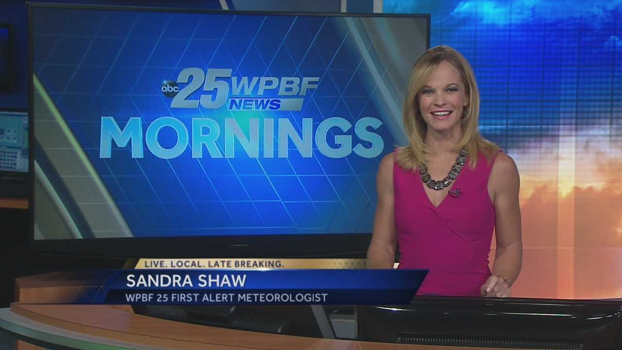 Sandra says more pleasant weather is in store on Thursday.