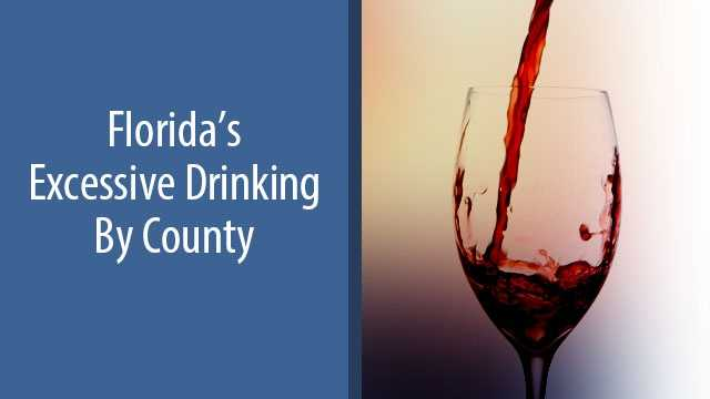 Do you enjoy a glass of wine with dinner or an entire bottle? Excessive drinking data has just been released. Click through this list to find out where your county ranks.