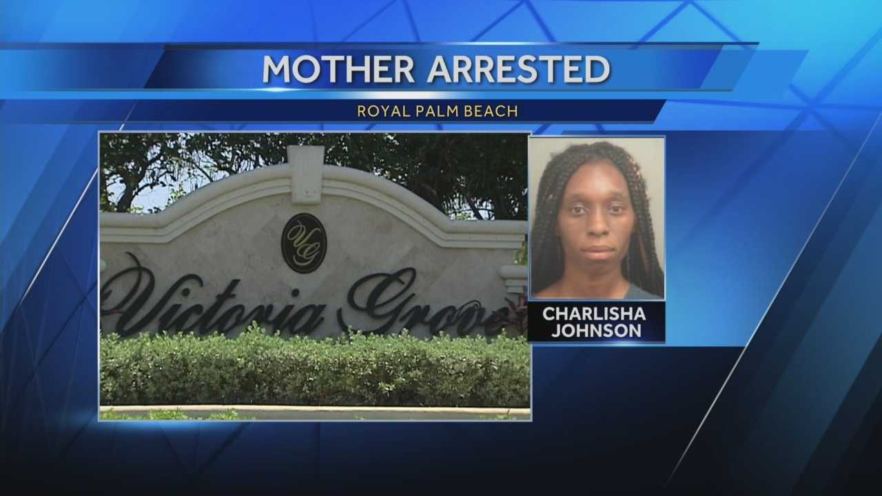 img-Royal Palm Beach mom arrested after 2-year-old child found wandering