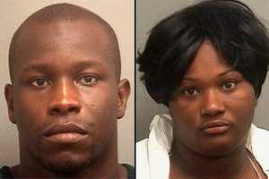 Montavis McKinzie and Christal Dudley were arrested in connection with the robbery of a man who went to a motel to pay an escort for sex, police said.