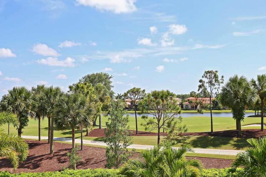 The estatThe estate is located on .32 acres of land in the enclave of Palacio in Mirasol.