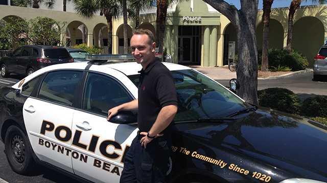 Boynton Beach Police Officer Richard Webster