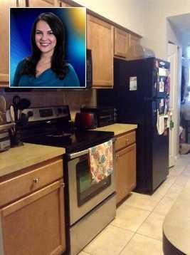 Here's Stephanie Berzinski's kitchen.