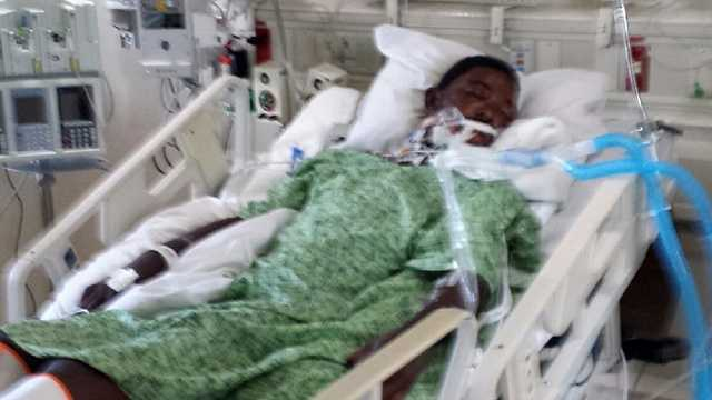 Tavares Docher was in a coma after a confrontation with St. Lucie County deputies in Port St. Lucie on Sunday.