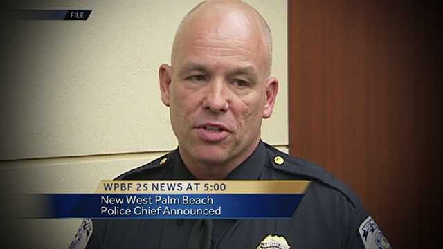 Bryan Kummerlen is West Palm Beach's new police chief.