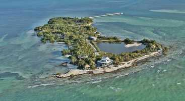 1. Ballast Key, Key West: $15,800,000