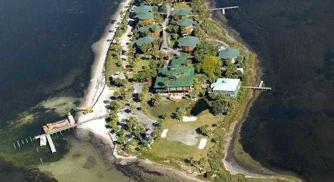 2. Black's Island, St. Joseph Bay: Price upon request