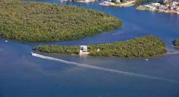 3. Crescent Island, San Carlos Bay: Online auction