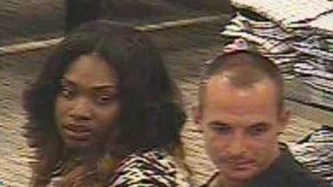 Boca Raton Police are searching for two people suspected of identity theft.
