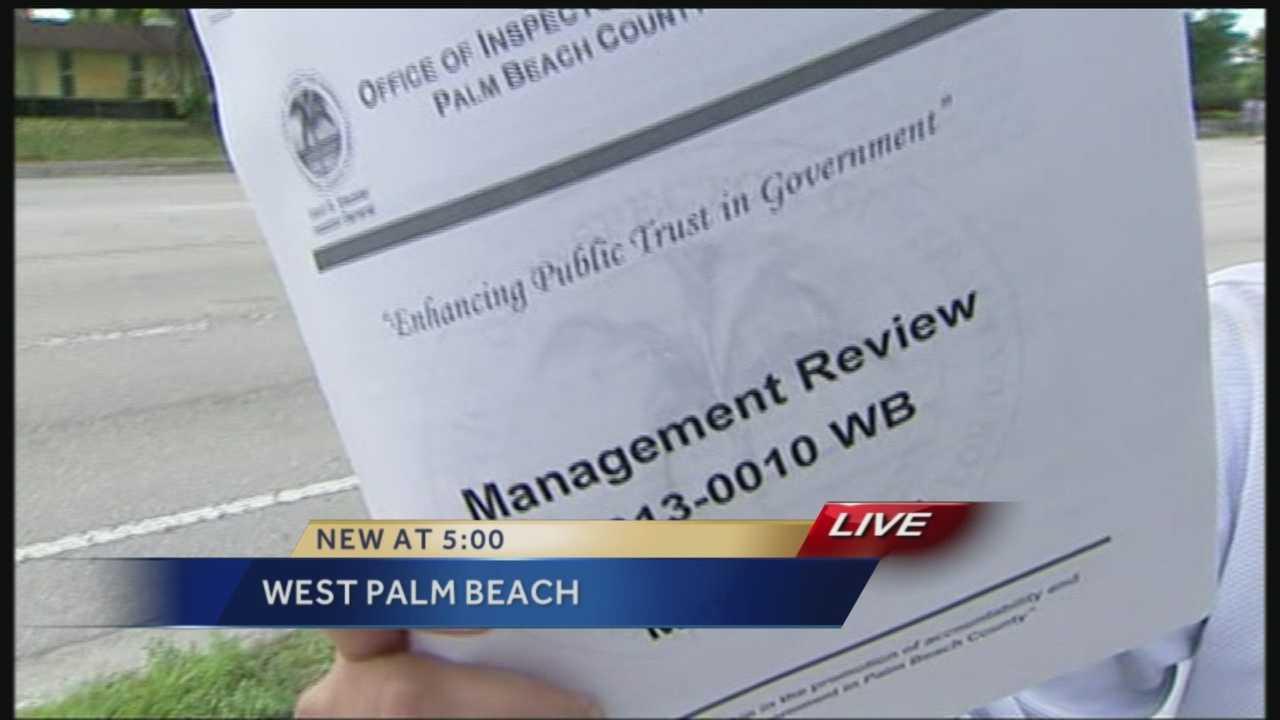 WPB Housing Agency paid contractors without proof