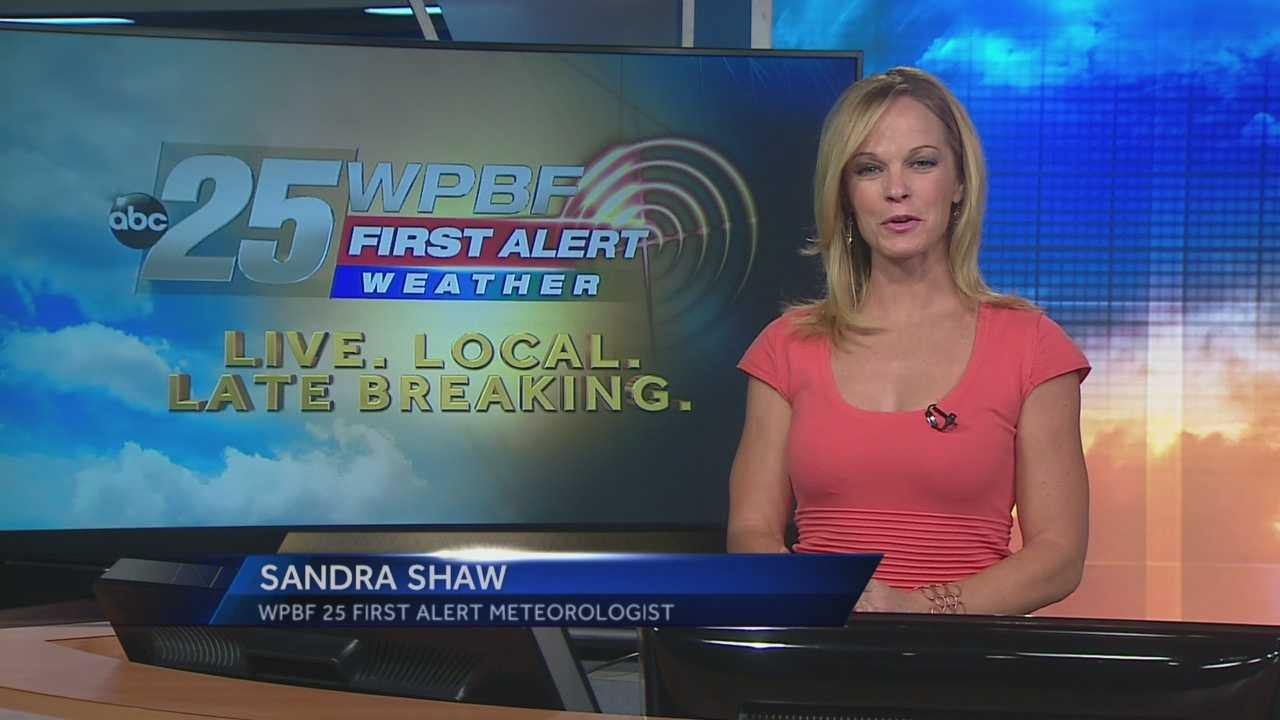 Sandra says more dry and warm weather is expected around South Florida on Tuesday, this time under partly cloudy skies.