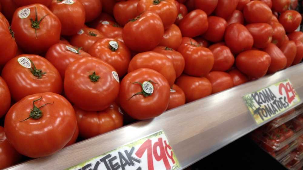 Organic Beefsteak Tomatoes at Trader Joe's: $.79/pound