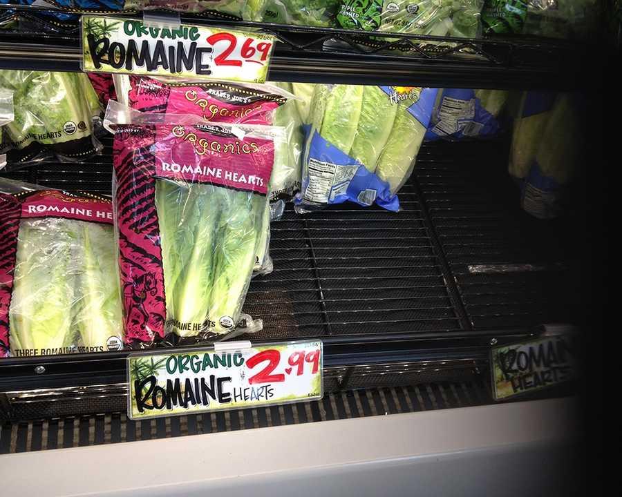 Organic Romaine Hearts at Trader Joe's: $2.99