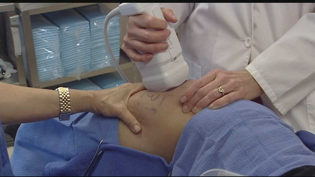 "WPBF's Erin Guy reports on a new procedure called Liposonix that promises ""one treatment, one hour, one size smaller."" Doctor's say it is capable of targeting certain areas by killing fat cells through highly focused ultrasound."