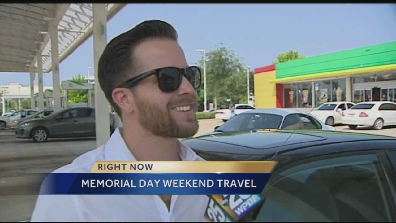 WPBF's Randy Gyllenhaal provides an overview of what you can expect for your Memorial Day weekend travel around south Florida.