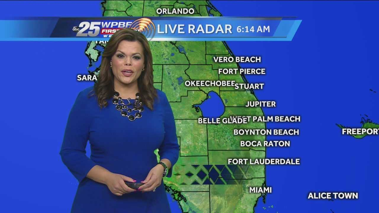Felicia says continued warm weather is in store on Tuesday, with a slight chance of showers.