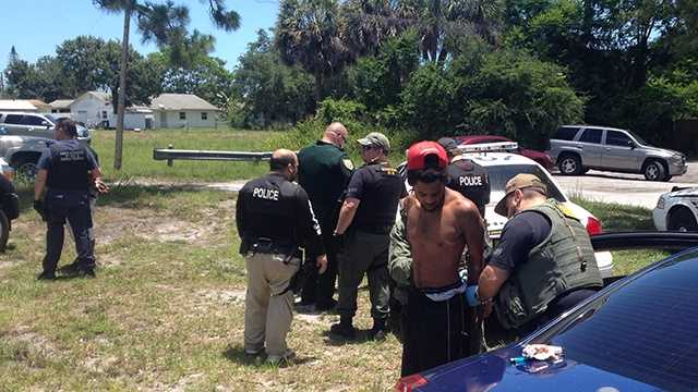 JUNE 4: Authorities made arrests and seized guns, drugs and cash during a sting operation in Fort Pierce on Wednesday.