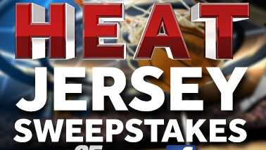 378x252 Heat Jersey Sweepstakes