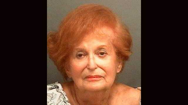Roselle Goldberg, 85, was arrested and is facing charges of battery on a person 65 years or older after police say she hit her 87-year-old husband.