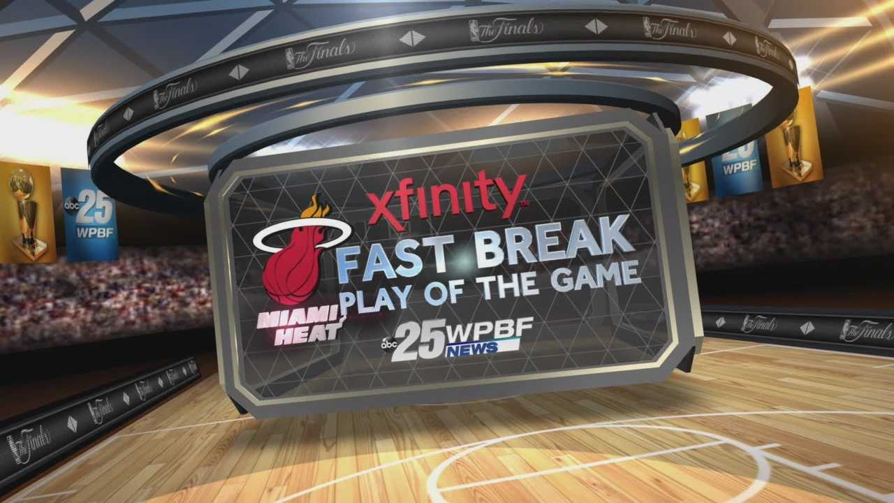 NBA Finals Game 3: Xfinity Fast Break Play Of The Game