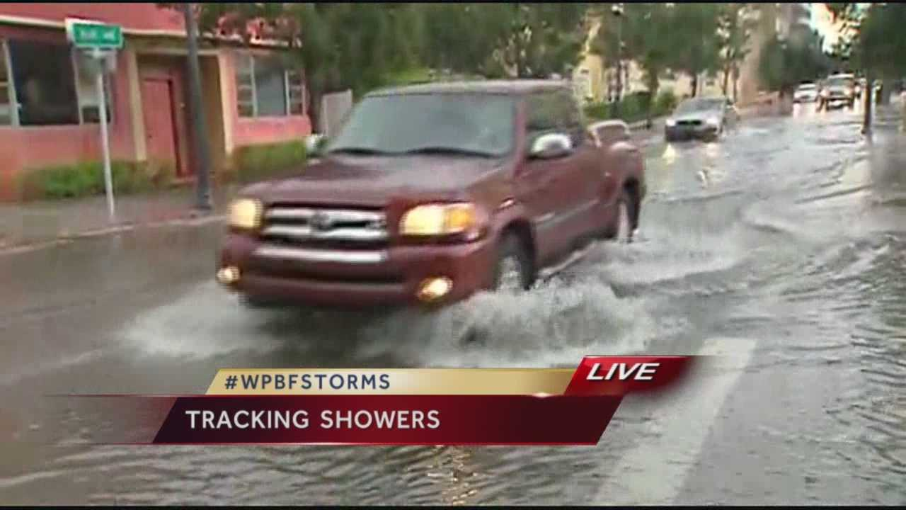 Just in time for the evening commute, several busy roadways were flooded from too much rain.