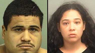 Gonzalo Mendoza Picado and Chelsy Betancourt were arrested and are facing armed carjacking after police say they demanded an unarmed, non-uniformed security guard out of her car and took off in it.