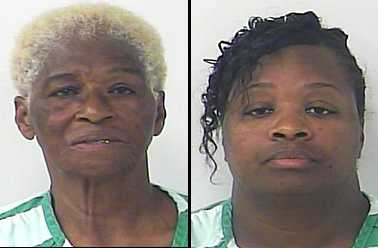 Alfred Turner Charlevoix, 66, and her daughter Claytresia Brown Yearby, 36, have been arrested for allegedly running two unlicensed assisted living homes for incapacitated senior citizens, according to St. Lucie County Sheriff's deputies.
