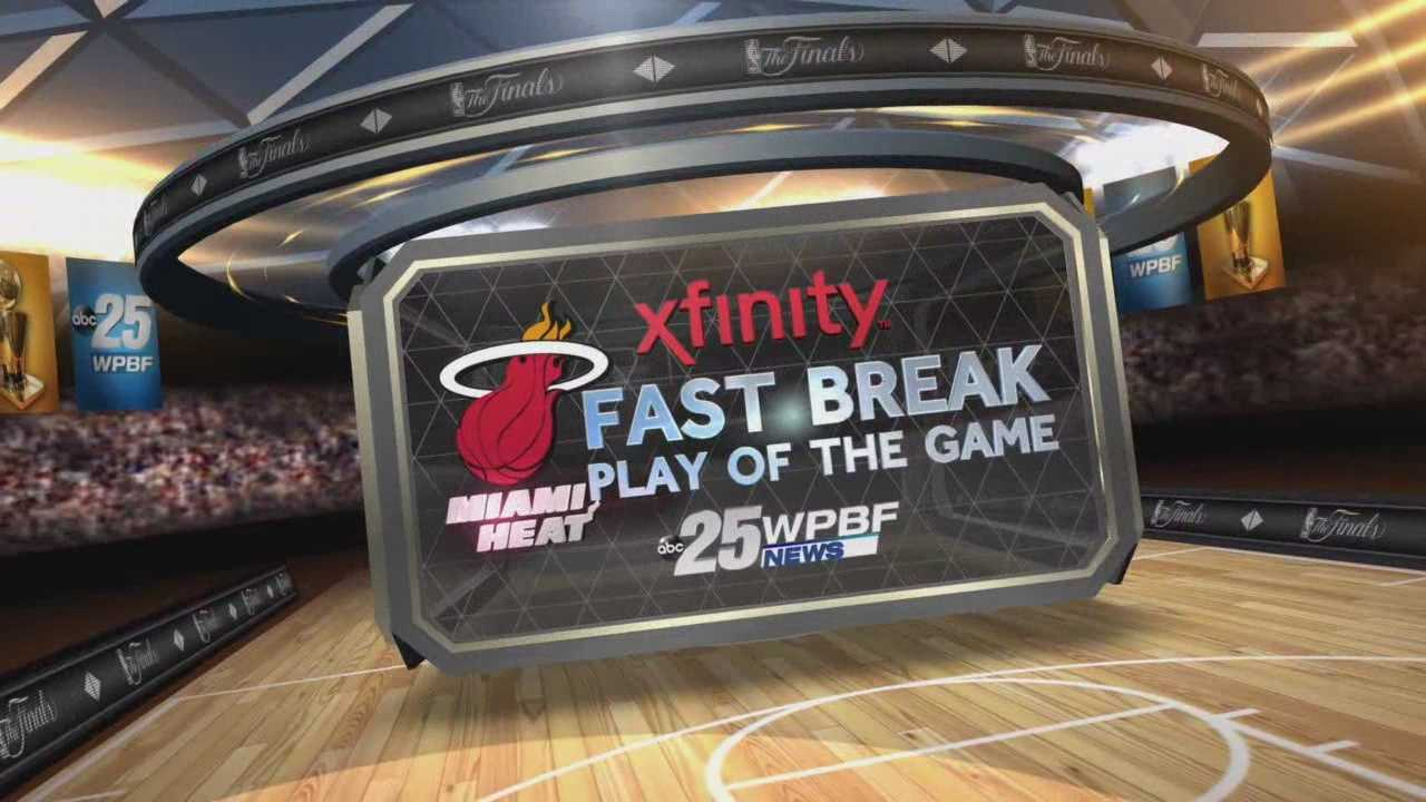 NBA Finals Game 5 Xfinity Fast Break Play Of The Game
