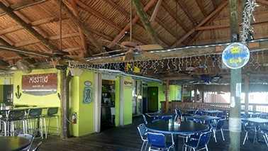 The Tiki Waterfront Sea Grill at the Riviera Beach Marina.