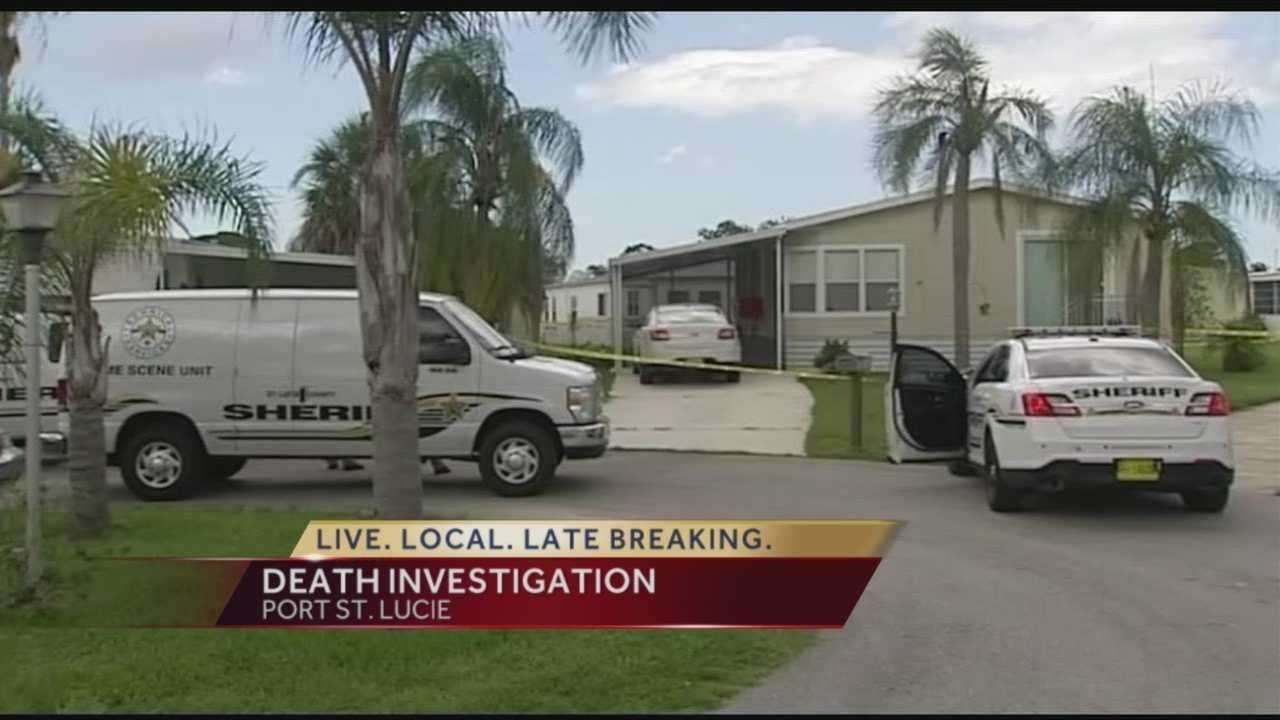 The Palm Beach County Sheriff's Office is investigating a death in the Spanish Lakes Riverfront community in Port St. Lucie where deputies say a woman was found dead inside her home. Authorities say they did receive a confession to the murder by the woman's alleged boyfriend.